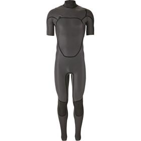 Patagonia R1 Lite Yulex Front-Zip SS Full Suit Men black